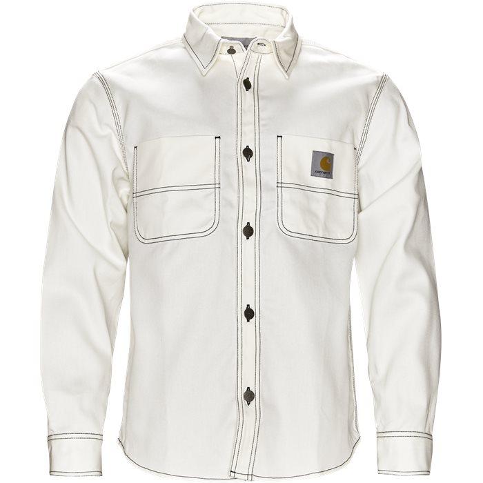 Chalk Shirt - Skjorter - Regular - Hvid